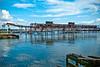 Red Hook (Nanynany) Tags: blue red water azul pier muelle agua walk astoria lic hook walkers longislandcity prk top20blue top25blue arianyswilsonphotography licwalkers