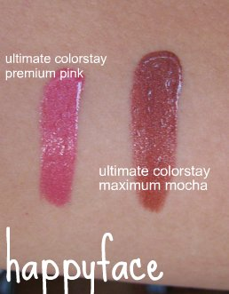 ultimate colorstay swatches
