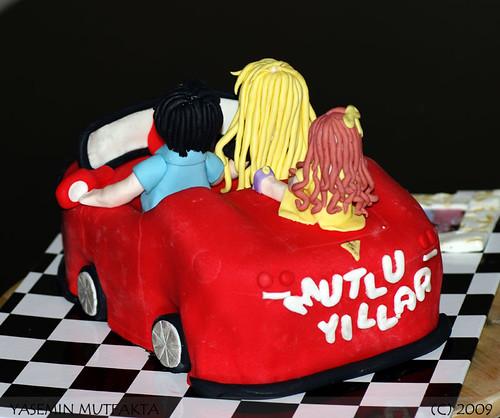 Uğurlu Ailesinin Ferrari Keyfi / Ferrari Cake