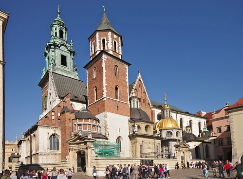 The Royal Archcathedral Basilica of Saints Stanislaus and Wenceslaus on the Wawel Hill ©  Andrey Korchagin