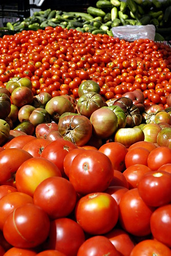 Local Organic Heirloom Tomatoes