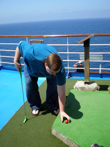 Mike, Ready for Putt-Putt (Carnival Splendor)