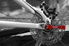 Rotation (Mortarman101) Tags: bicycle trek cycling mountainbike avid selectivecolour discbrakes fuelex7 anawesomeshot goldstaraward activebrakingpivot
