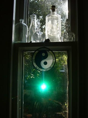 Yin-Yang + Turquoise Light