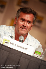 Bruce Campbell of Burn Notice (undertheradarmag) Tags: television brucecampbell burnnotice