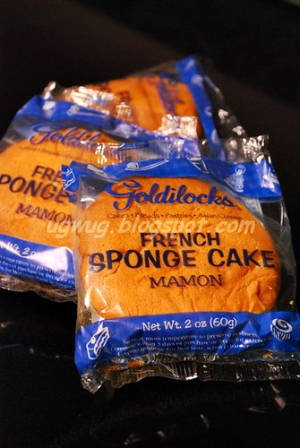 Goldilocks French Sponge Cake - Mamon