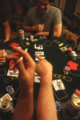 the action (c_v_smith) Tags: chicago beer cards drinking guys smoking poker