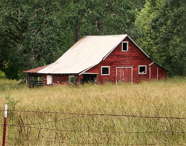 Florney Valley Red Barn