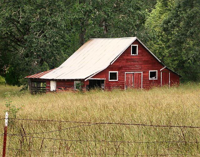 Florney Valley Red Barn