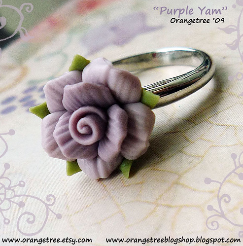 purple yam ring