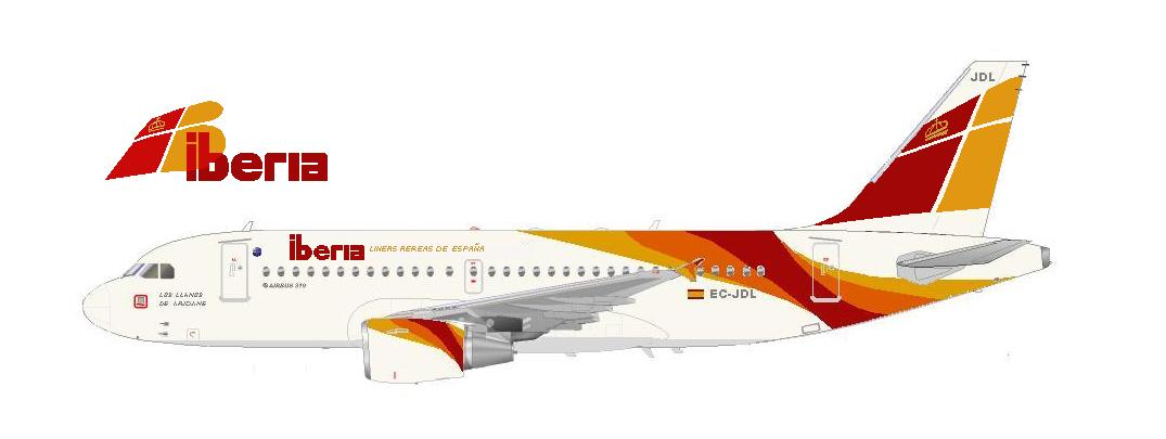 Iberia Airlines New Livery Iberia New Livery