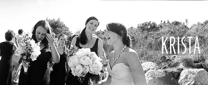 Cape Cod Wedding - Black & White Film