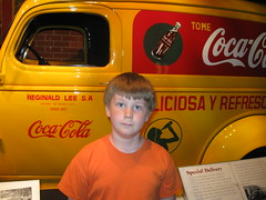 Z at the Coke museum