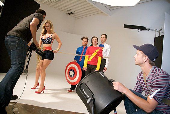 The Big Bang Theory elenco