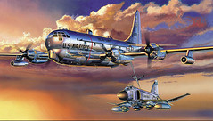 Boeing-KC-97 Stratotanker (x-ray delta one) Tags: illustration america advertising poster media russia propaganda space aircraft nazis hitler sac nuclear nasa nostalgia 1950s ww2 americana 1960s boeing civildefense capitalism bigbrother outerspace tomorrowland atomic populuxe tanker nato leningrad stalin coldwar thefuture worldwar2 refuel aerospace atomicbomb ussr worldwar1 icbm airtoair worldoftomorrow strategicaircommand communisim kc97 departmentofenergy spacerace spaceexploration magazineillustration ww3 worldwar3 stratotanker greatpatrioticwar atomicwar warsawpact hydrogenbomb robertmccall thermonuclearwar kiloton nucleardeterent atomicannihilation
