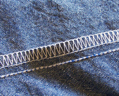 other side of 5 thread stitch