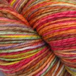 Thanksgiving on 3 ply Merino Wool Twist - 8 oz. (...a time to dye)