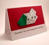 Origami Tortoise And Hare Card