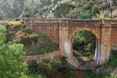 20090816_3910 Djerriwarrh Bridge and Creek (williewonker) Tags: bridge creek sandstone arch australia victoria bacchusmarsh djerriwarrh