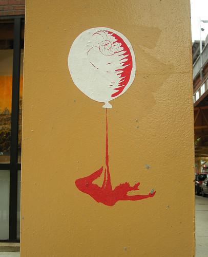 balloon stencil