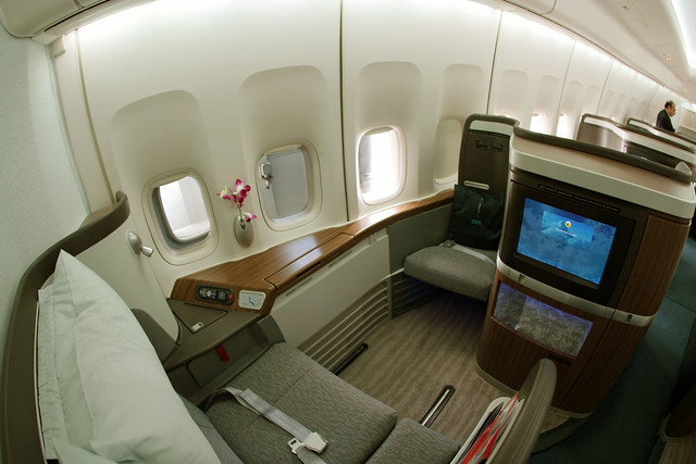 The New Cathay Pacific First Class