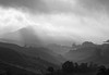 Black Spotlight in B&W (QooL / بنت شمس الدين) Tags: travel bw mist misty clouds landscape dawn blackwhite tea hills malaysia plantation layers cameronhighlands pahang qool sgpalas qoolens