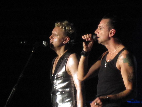Martin and Dave of Depeche Mode