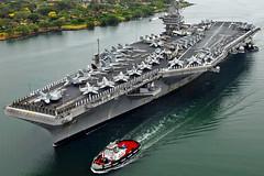 [フリー画像] [船舶/ボート] [軍用船] [航空母艦] [CVN-74 ジョン・C・ステニス] [CVN-74 USS John C. Stennis]      [フリー素材]