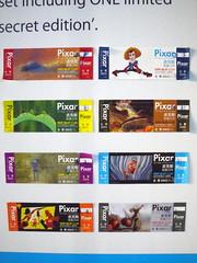 皮克斯展限量彩繪門票