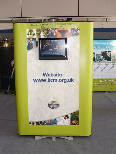 Exhibition - Display - Twist - TV Monitor Insert