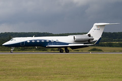 VP-BJK - Private - Gulfstream Aerospace G-V-SP Gulfstream G550 (G5) - Luton - 090707 - Steven Gray - IMG_0249