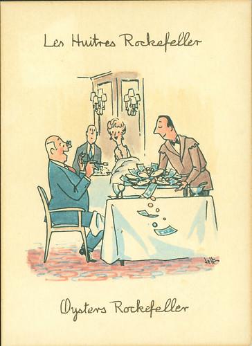 Jeff - Oysters Rockefeller postcard