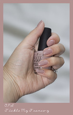 OPI - Tickle My France-y (AlicePalice) Tags: nude swatch beige natural polish nailvarnish opi alicepalice ticklemyfrancey