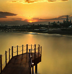 (digitalpsam) Tags: sunset sea art beautiful turkey mediterranean artistic magic trkiye middleeast surreal atmosphere antalya dreamy serene heavenly artofimages atomicaward freedancephotographers obramaestra sammatta
