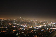 theView. (dL-chang) Tags: skyline night losangeles citylights downtownlosangeles