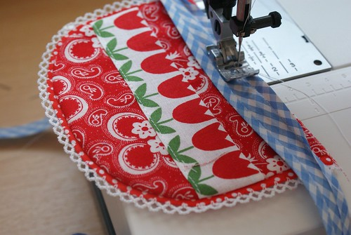 apron for little Dutch girl