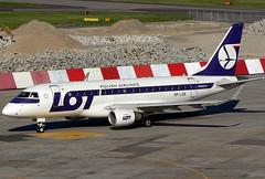 Embraer ERJ-170-100LR, LOT - Polish Airlines / Polskie Linie Lotnicze, Warszawa - Okęcie (Frederic Chopin) (WAW / EPWA) 03.05.07