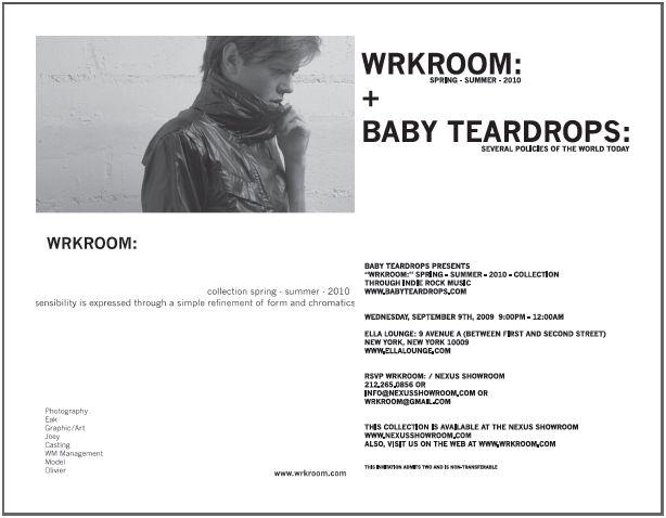 wrkroom invitation