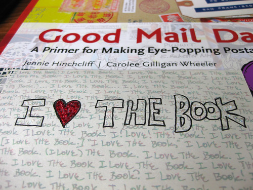 My first mail art and the book that inspired it