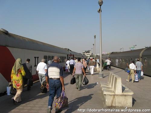 Estação Ramses II no Cairo, Egipto