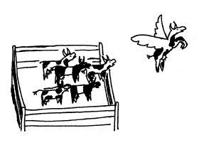 Flying Cow Getaway