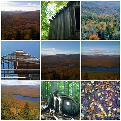 Autumn comes to Goodnow Mountain in the Adirondacks