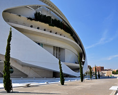 Arts Theatre (magirob) Tags: art valencia tile spain theater theatre science rob fir rod driscoll cityofartsandscience magicrob robdriscoll magirob