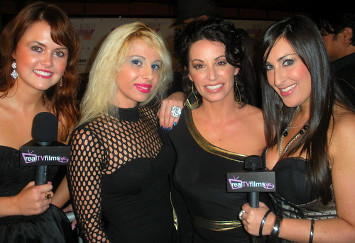 "Sabrina Parisi, CC Perkinson, ""Really Awards"" Post Event - Area Nightclub, Hollywood"