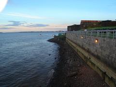 Muro do forte