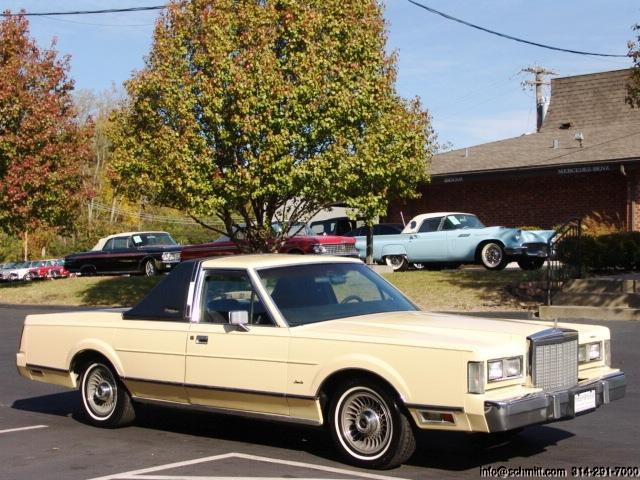 truck pickup lincoln towncar 1985