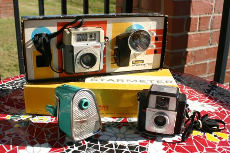 Kodak Brownie Cameras and Swingline Pencil Sharpener Resized