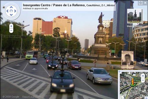 Google Street View en México
