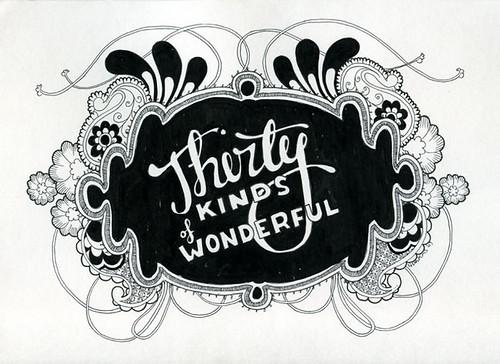 Thirty kinds of wonderful