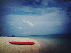 Red kayak, Pulau Besar